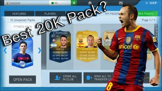 Best 20K Pack!? (FIFA 16 Mobile Pack Opening + Exchanges)