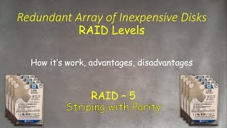 RAID-5: What is this, how it's work , how to setup and recover in Windows