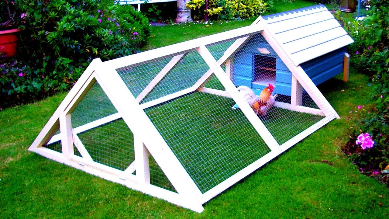 How to build a simple cheap chicken coop youtube for How to build a chicken hutch