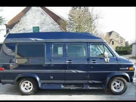 1994 GMC Van Dura G20 Conversion Van - YouTube