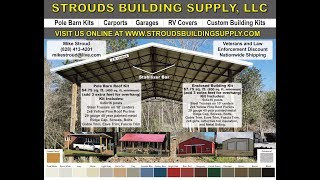 STEEL TRUSSES  Up Close and Details Explained USA