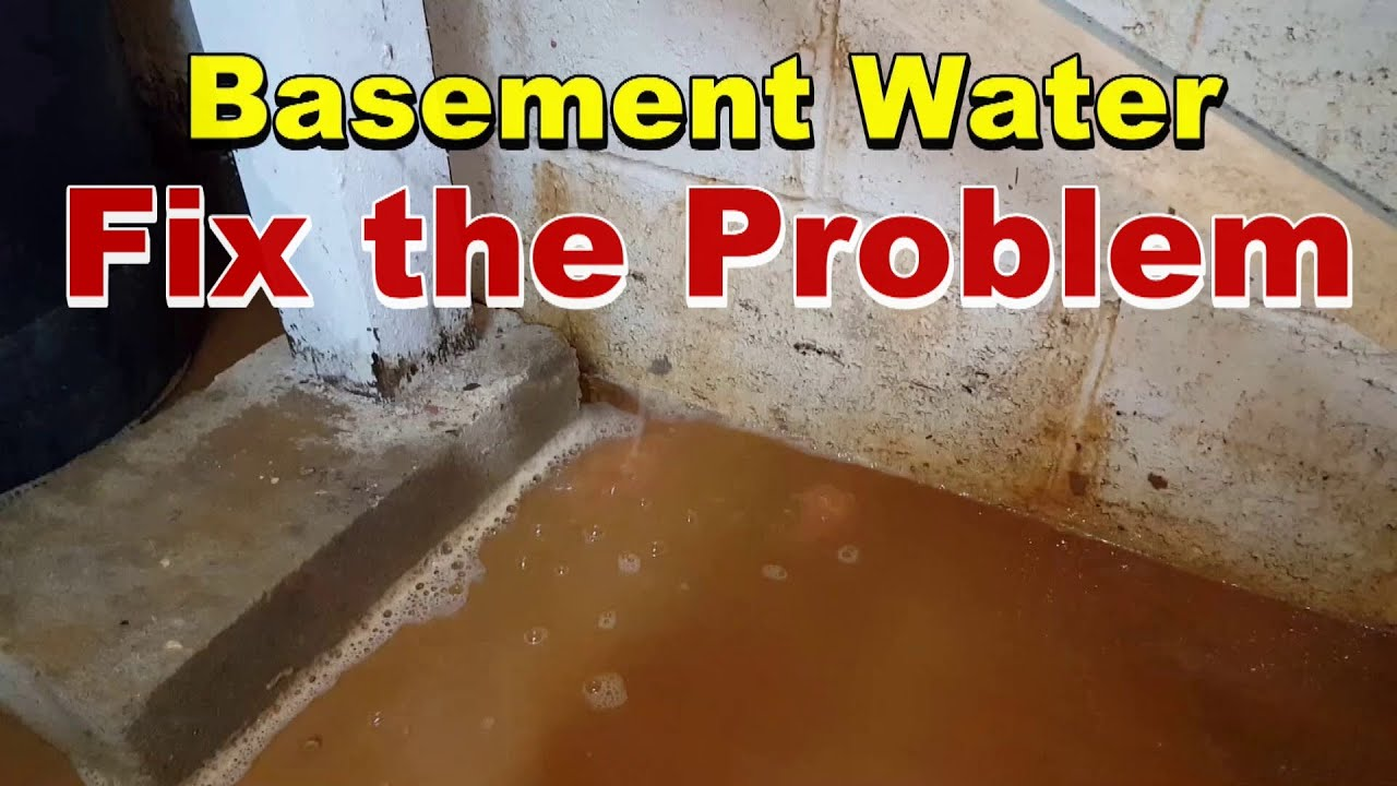 & How To Install Sump Basin and Sump Pump in flooded basement - YouTube