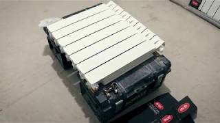 Rifar Monolit 500 Ventil 50 мм межосевое нижнее подключение (мини обзор)