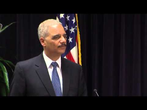 U.S. Attorney General Holder Speech on the Need for Criminal Justice Reform