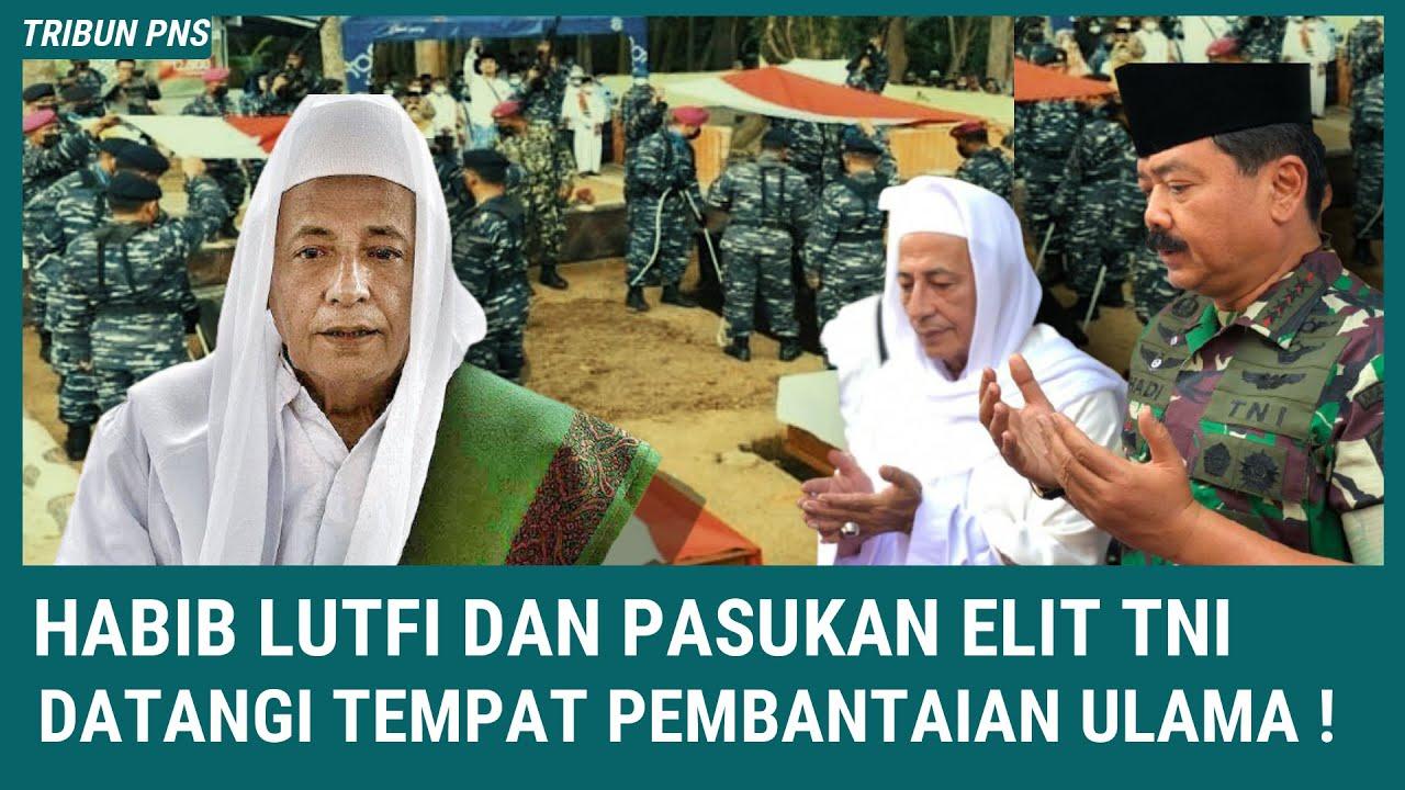 BERITA TERKINI ~ Habib Luthfi dan Pasukan TNI Datangi Tempat Pembantaan Ulama