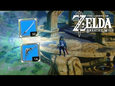 HOW TO GET STRONG WEAPONS EARLY!!   Legend of Zelda: Breath of the Wild Weapon Guide