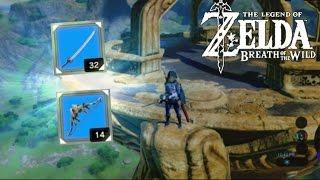 HOW TO GET STRONG WEAPONS EARLY!! | Legend of Zelda: Breath of the Wild Weapon Guide