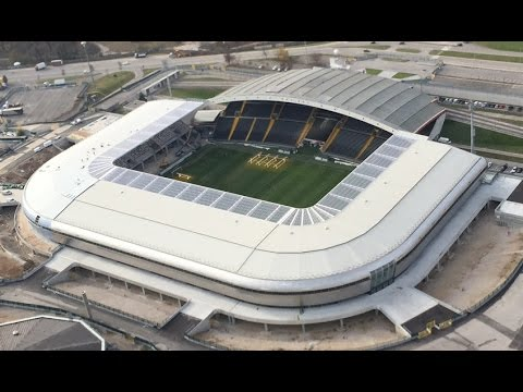 Serie A Stadiums 2015/2016