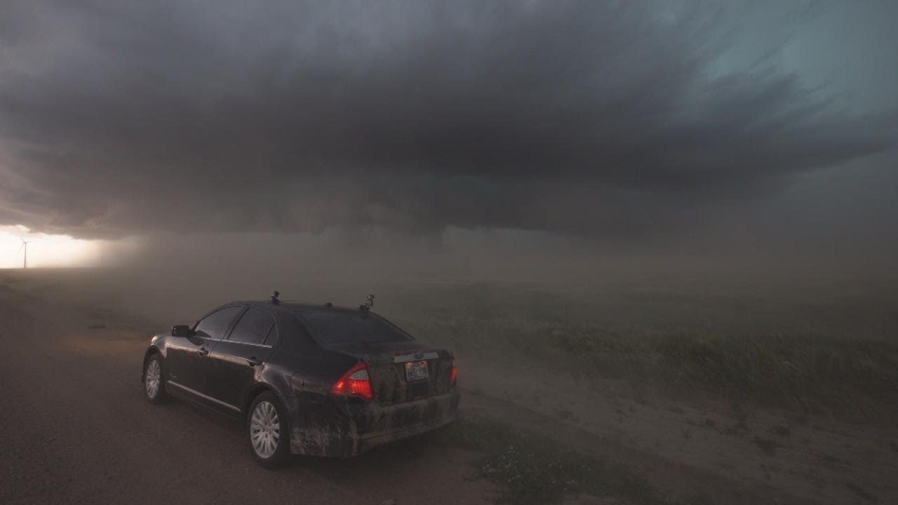 Tornado Touches Down For Dangerously Close To Storm Chaser In Colorado
