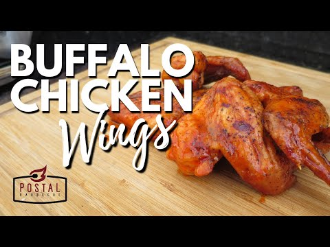 Best Buffalo Wings Recipe – How to make Buffalo Chicken Wings on the Grill Easy