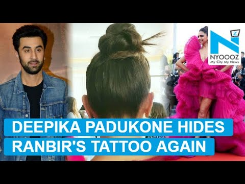 Not only at Cannes 2018, Deepika Padukone hid RK tattoo 3 times