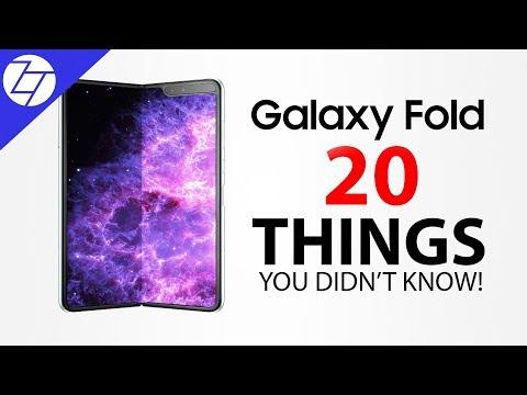 Samsung Galaxy Fold - 20 Things You Didn't Know!
