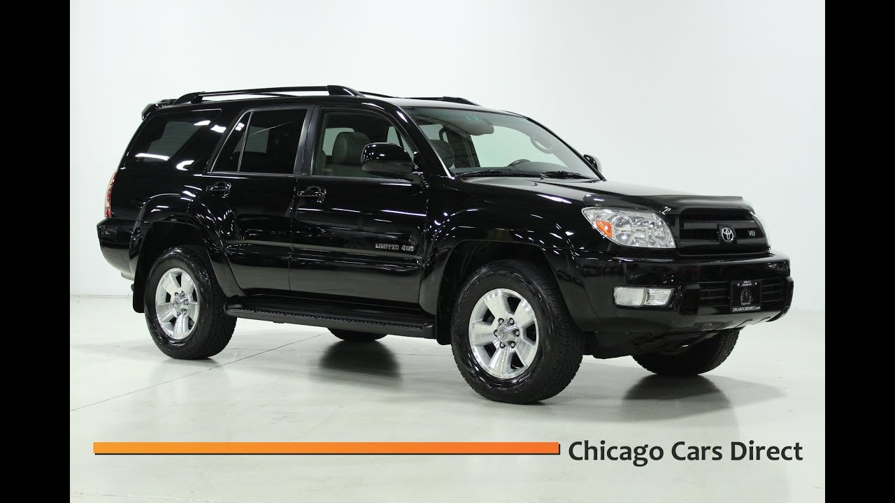 Chicago cars direct presents a 2005 toyota 4runner limited v8 4wd in high definition youtube