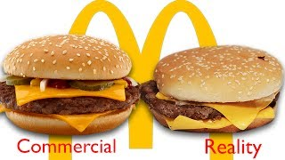 McDonald's Ads vs The Real Thing