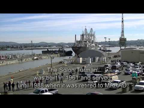 The Final Voyage of The SolonTurman to Mare Island