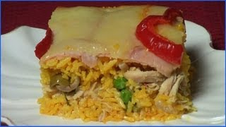 Cuban Imperial Rice Miami--Arroz Imperial Miami