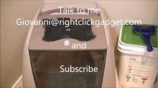Ca Jumbo Hooded Cat Litter Box Review