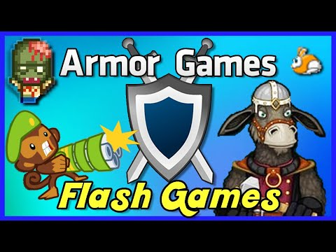 ARMOR GAMES | Nostalgic Flash Games - [Highlights]