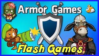 ARMOR GAMES | Nostalgic Flash Games - [Highlights]