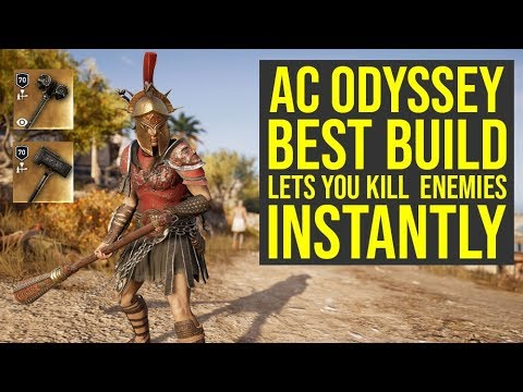 Assassin's Creed Odyssey Best Build INSTANTLY KILLS Multiple Enemies (AC Odyssey Best Build) thumbnail
