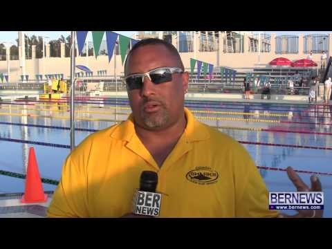 National Swimming Coach Ben Smith At NAC Pool, June 7 2013