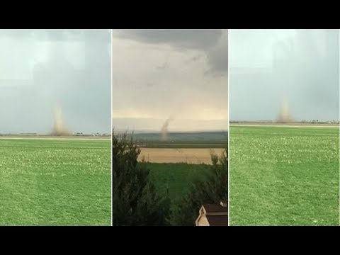 "Video Extra: ""Gustnado"" touches down in Central Montana"