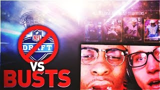 ALL-TIME UNDRAFTED PLAYERS VS ALL-TIME BIGGEST BUSTS EVER W/ MMG ! MADDEN 17 ULTIMATE THEMED TEAMS