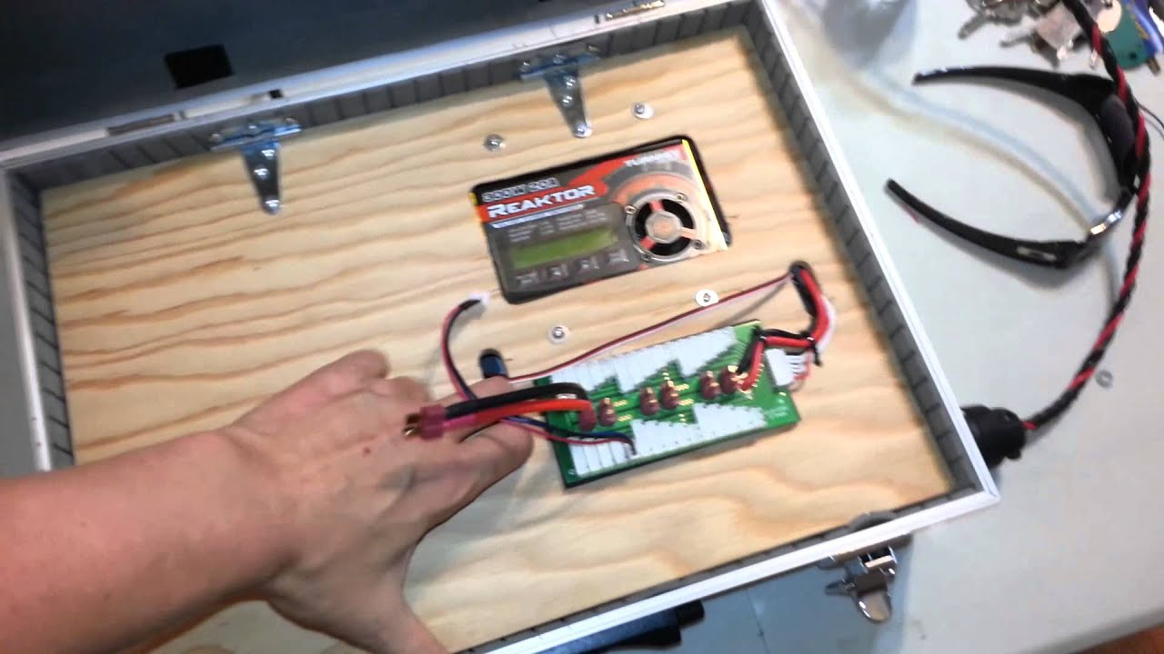 Building A Portable Charge Station Youtube