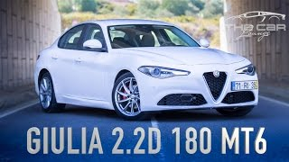 Alfa Romeo Giulia 2.2D Super Review Portugal - É desta que a Alfa faz frente aos alemães?