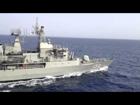 Royal Australian Navy frigate ANZAC Breakaway song