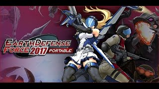 WITH EXTRA WOBBLE - Earth Defense Force 2017 Portable [PS Vita] Gameplay