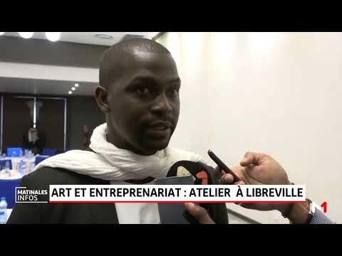 Art et entreprenariat: atelier à Libreville