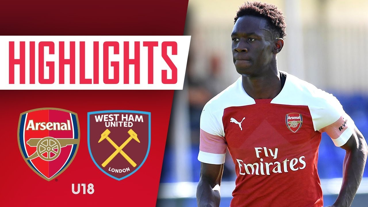 HIGHLIGHTS | Arsenal 2-1 West Ham United U-18s