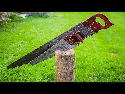 """Restoring"" vintage crosscut & hand saws"