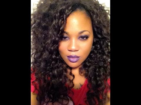 Equal Double Weave Beach Curl Hair Full Sewin Youtube