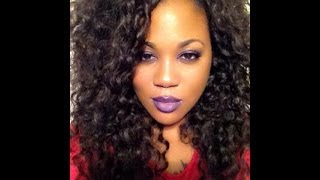 Equal Double Weave Beach Curl hair full sewin
