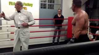 Backyard Boxing Vienna Christian Lang vs Fatih Top 24.05.2013
