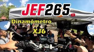 JEF265 | XJ6 no dinamômetro #VelocidadeMáxima