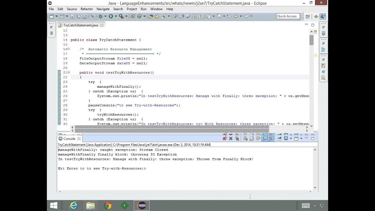 Java 7 se enhancements and concurrency tutorial video language java 7 se enhancements and concurrency tutorial video language enhancements baditri Gallery