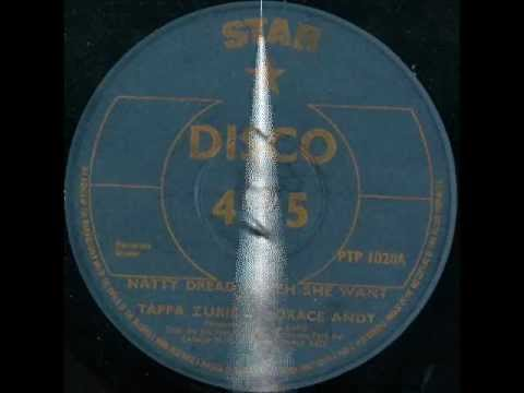 TAPPA ZUKIE & HORACE ANDY - Natty dread a weh she want / Version (Star) 12