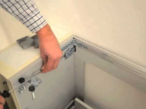 fissaggio a parete - youtube - Pensile Soggiorno Sospeso Ikea 2