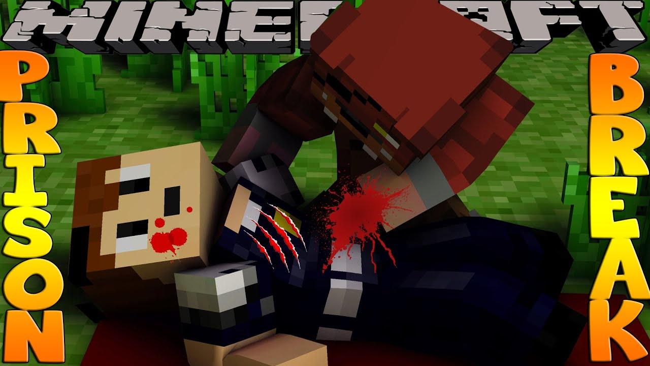 Minecraft PRISON BREAK - FIVE NIGHTS AT FREDDYS, SCUBA STEVE IS DEAD!?!