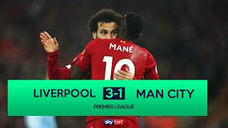 LIVERPOOL 3-1 MAN CITY | REDS SEND TITLE STATEMENT AT ANFIELD