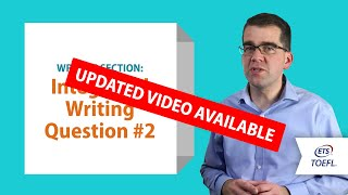 Inside the TOEFL® Test: Writing Question 2