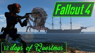 12 Days of Questmas! - Day 4 - Treasure Island - New Landscape - Fallout 4 Quest Mod Gameplay