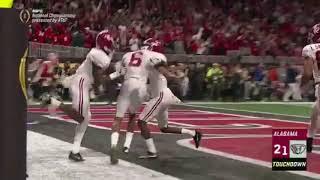 Alabama Game Winning Touchdown | NCAA College Championship | Alabama vs Georgia