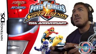 Morphin Gaming Time!! Let's Play Power Rangers Super Legends (DS)
