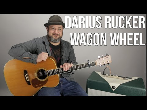 "How to Play ""Wagon Wheel"" by Darius Rucker - super easy acoustic"