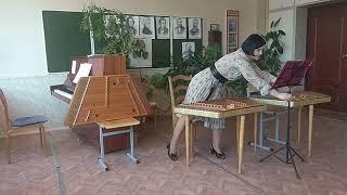 Самоучитель игры на белорусских цимбалах. Вводный урок для начинающих любителей цимбал.