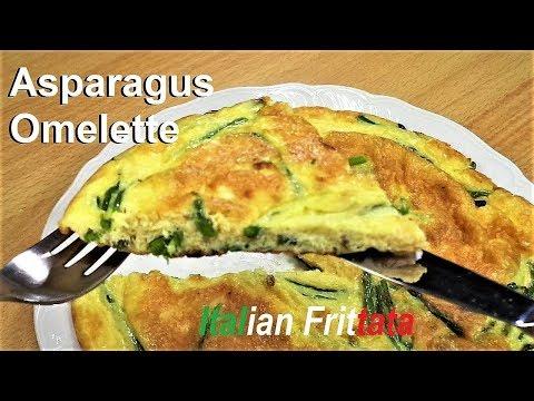 How to cook Asparagus Omelette. Frittata con asparagi #italianfood